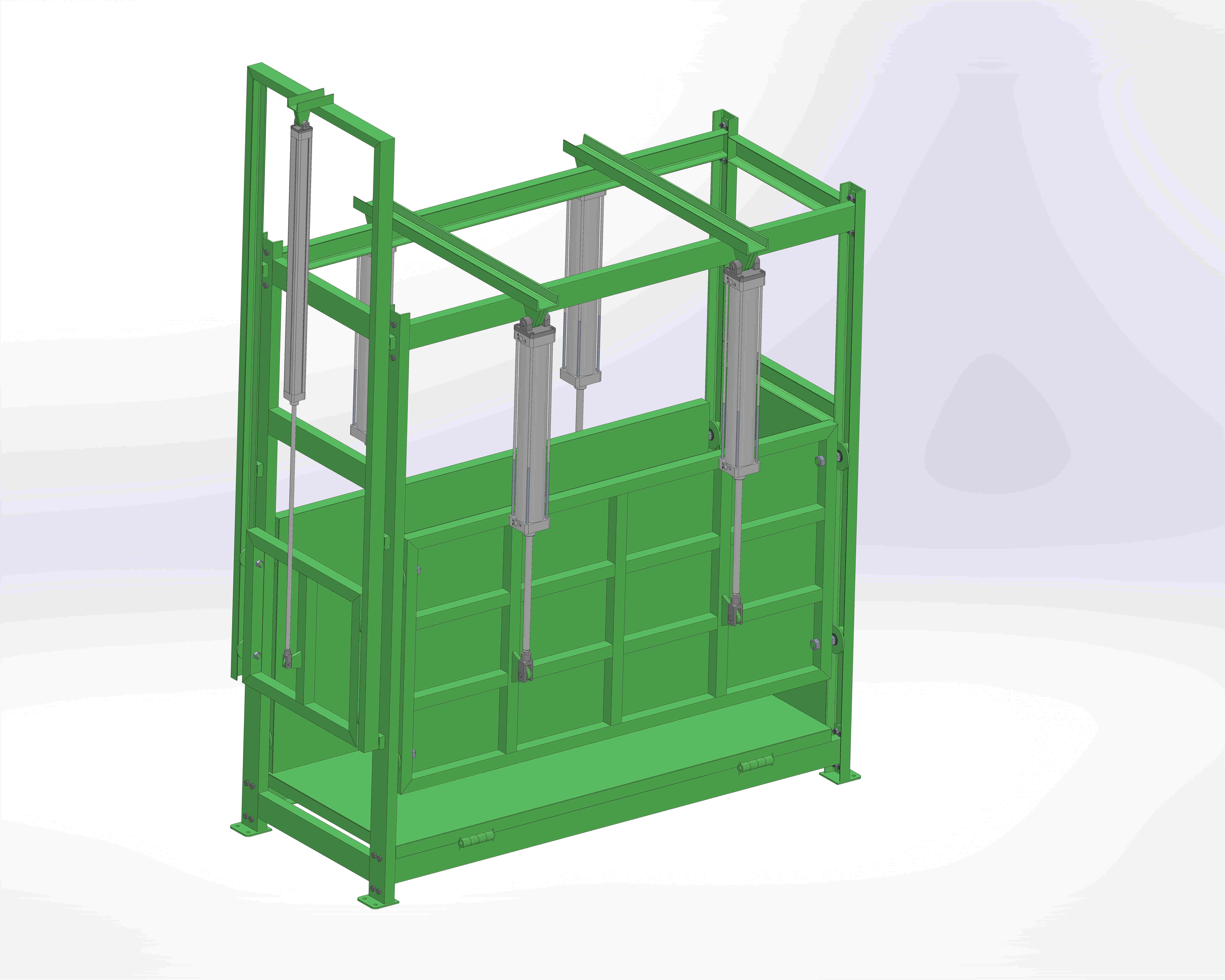 Cattle Classical Slaughter Cage