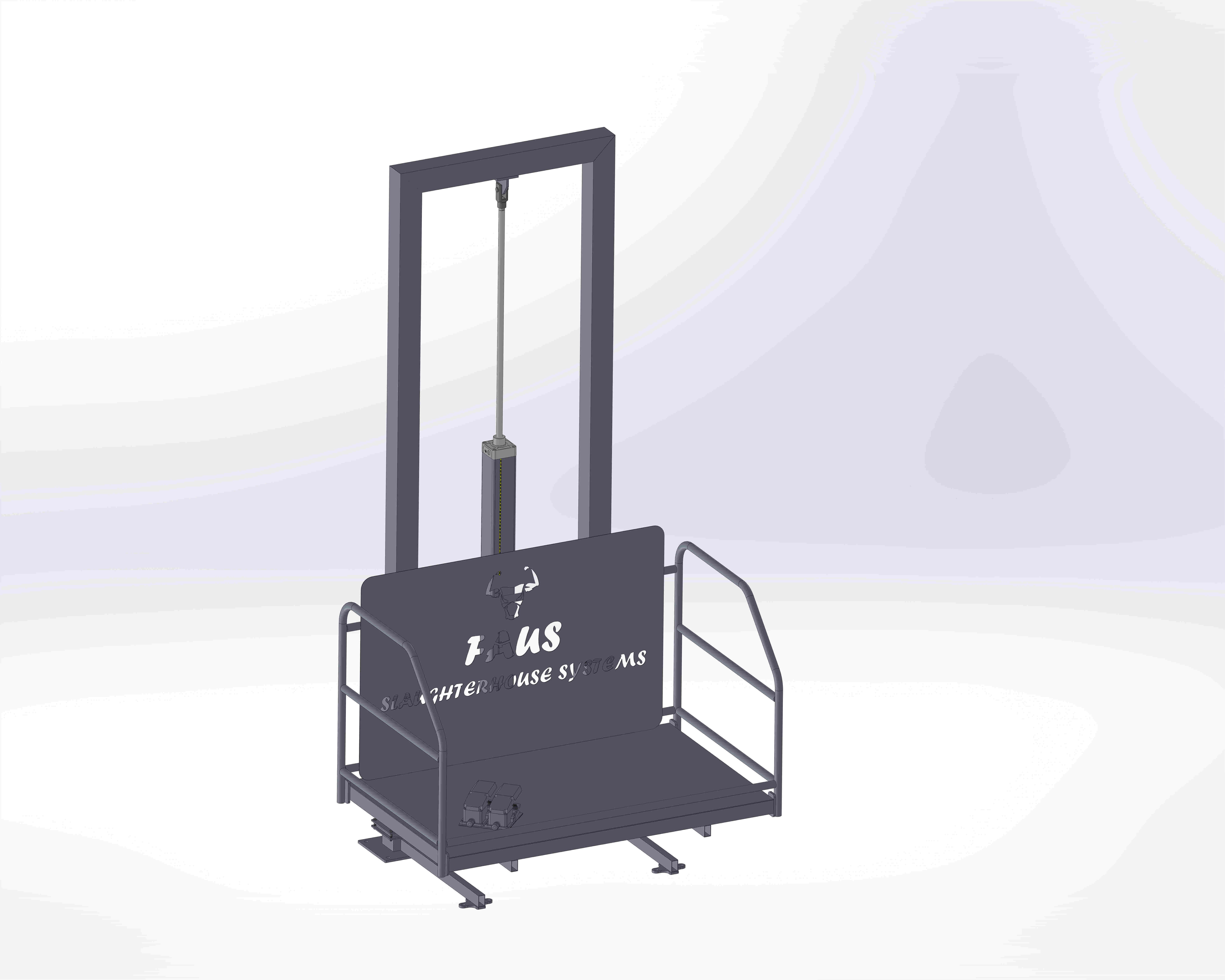 Pneumatic Tail Opening Platform
