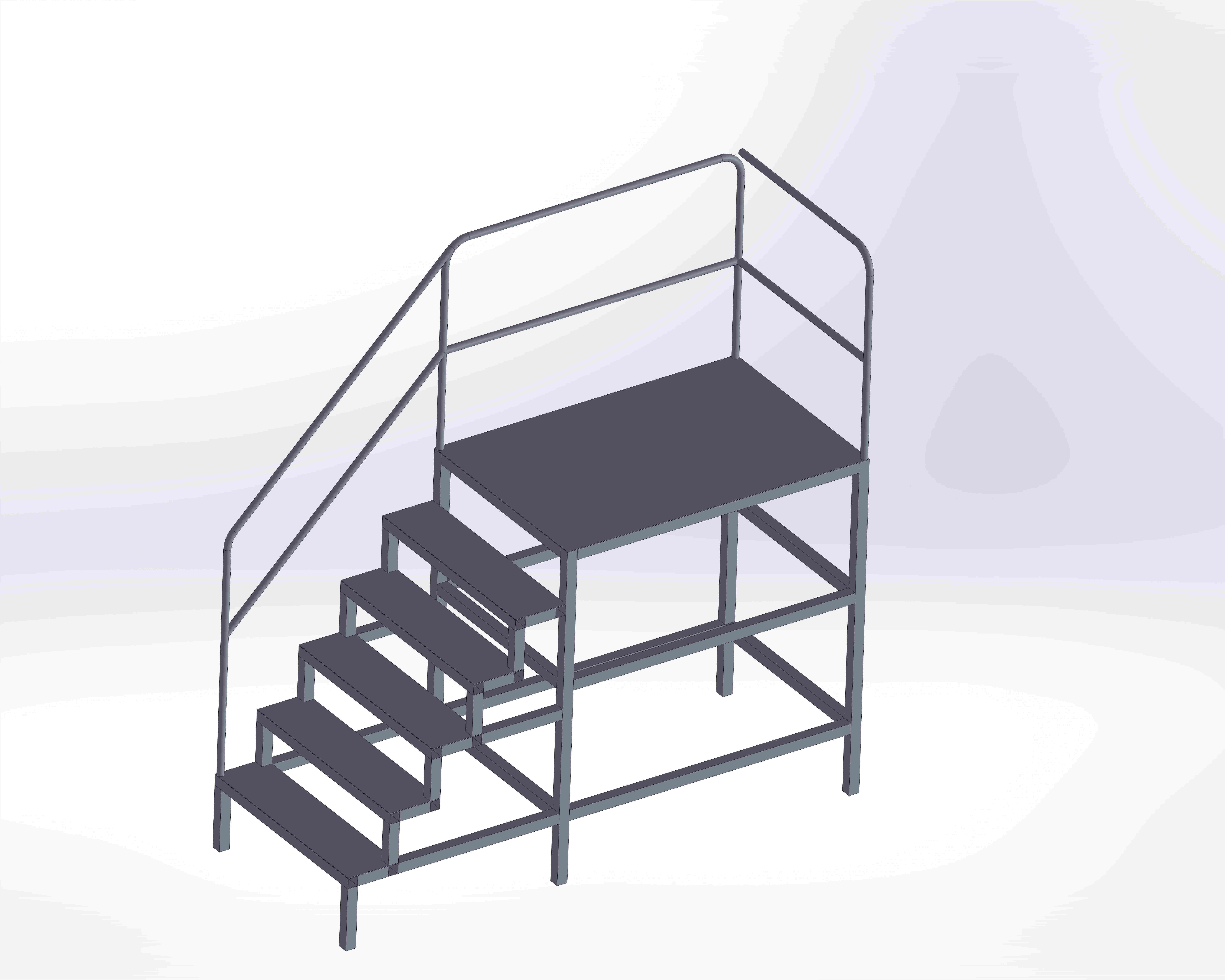 Tail Opening Platform - Stationary