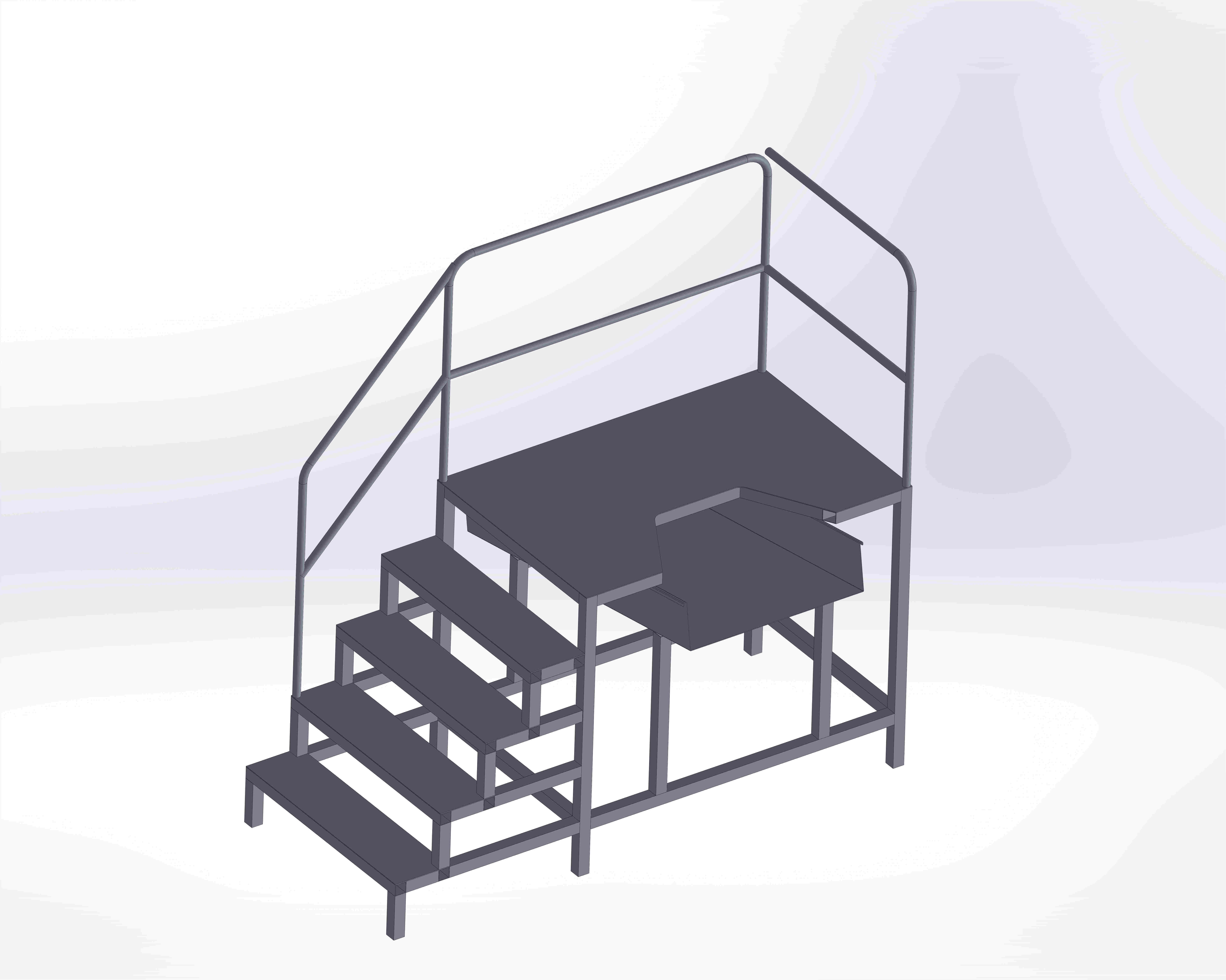 Viscera Removing Platform - Stationary